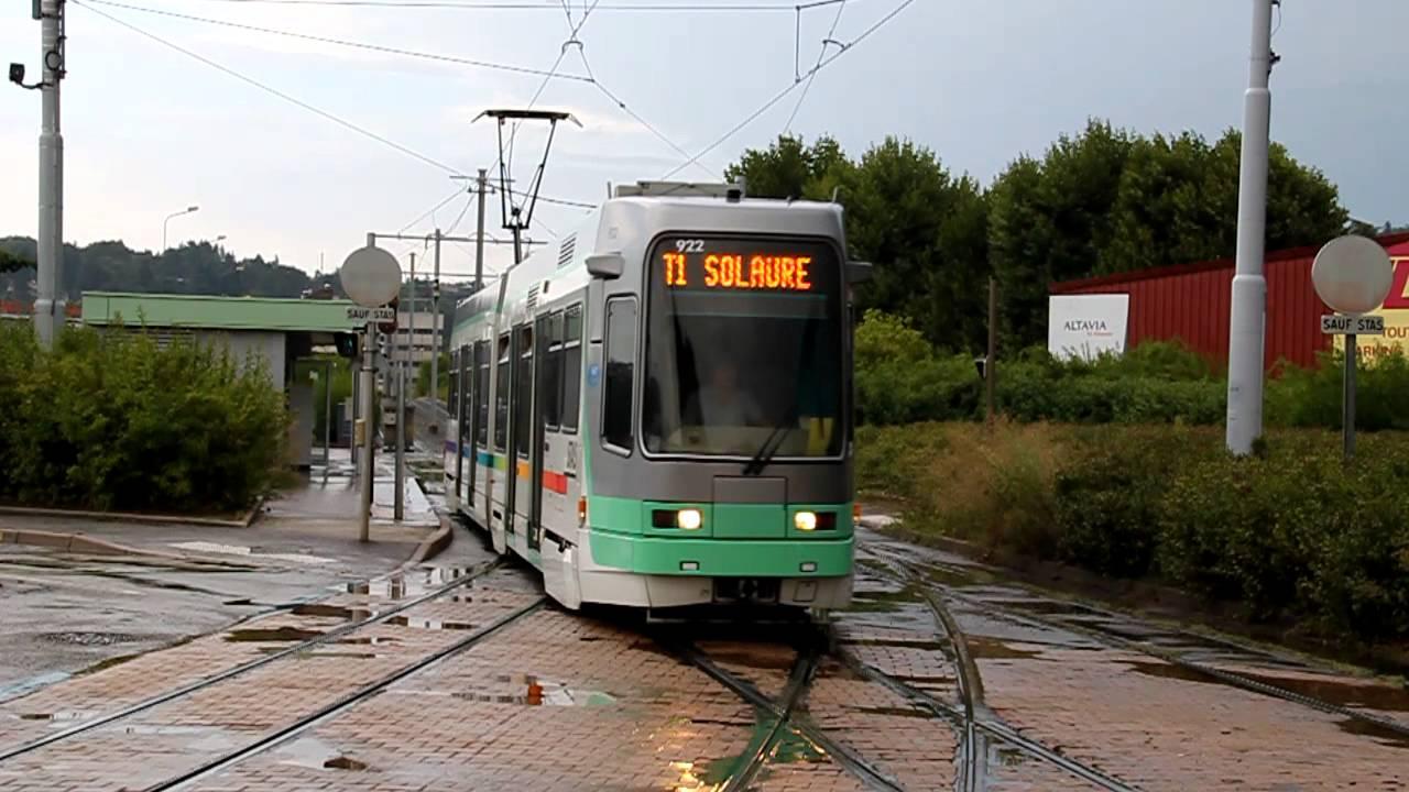 Stas saint tienne tramway t1 escale depot 2012 youtube - Electro depot saint etienne ...