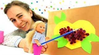 Открытка для Барби своими руками. Мастерская Барби