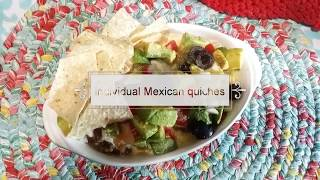 Cooking for 2~ Mexican quiche casserole