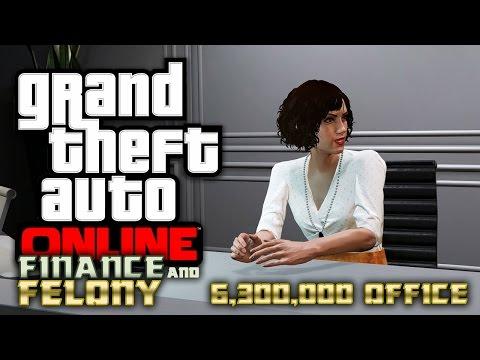 GTA ONLINE - Finance and Felony: 6.300.000 Dollar für ein BÜRO? (Alle Inhalte)