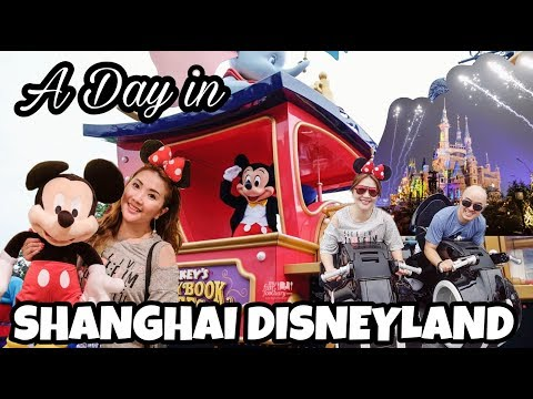 Shanghai Disneyland TRON and rides - Myfunfoodiary travel vlog