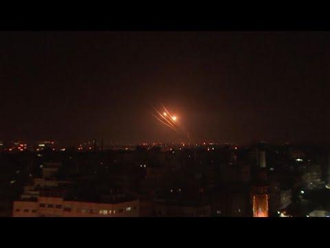 Palestinian Militants Fire Rockets at Israel From Gaza Strip