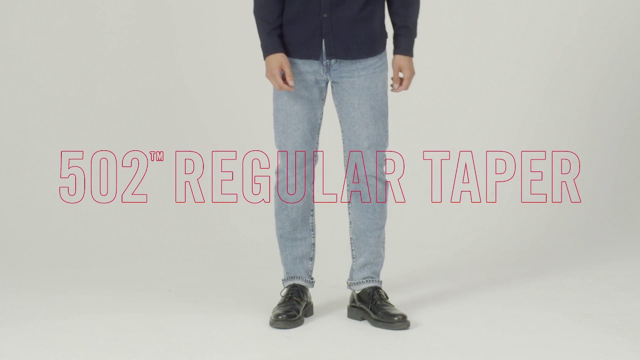 0038d29e3c5 Levi's® Style Guide: How to Wear the 502™ Regular Taper - YouTube