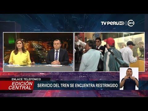 Línea 1 del Metro de Lima trabaja para normalizar la circulación de trenes