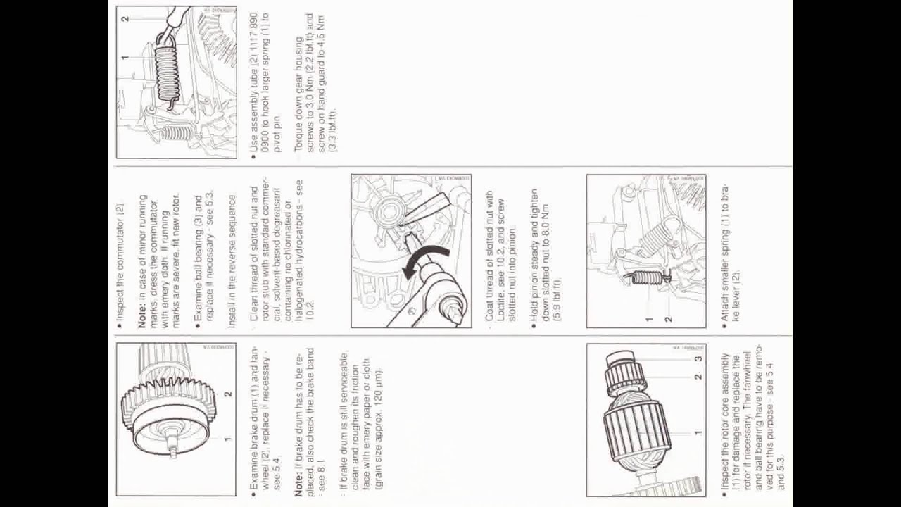 Service Manual for STIHL E140, E160, E180, MSE140C