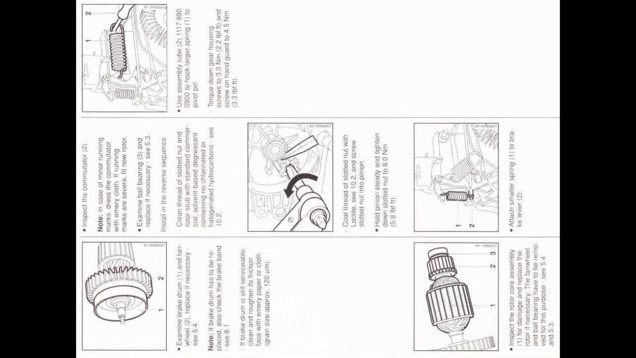 Service Manual For Stihl E140 E160 E180 Mse140c