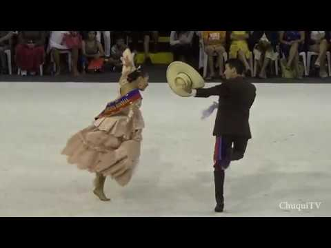 Asia 2018. Alexandra Medina y Erick Vilela. Campeones Mundiales de Marinera Noveles