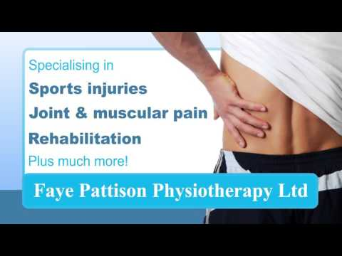 Faye Pattison Physiotherapy Ltd Advert