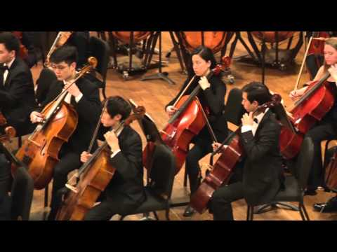 Kenyon Alexander Barber Violin Concerto with the Brown University Orchestra