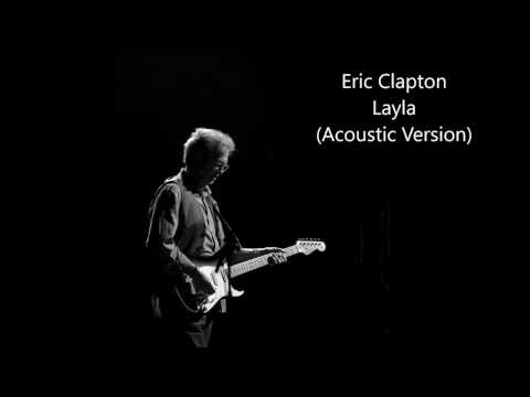 Eric Clapton - Layla - Acoustic Version (Guitar Backing Track)
