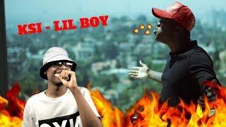 CRAZY FLOW | KSI - Little Boy (Diss Track) | Reaction
