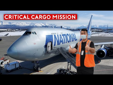 Flying Inside Covid-19 Cargo Response Flights (B747 and B757)