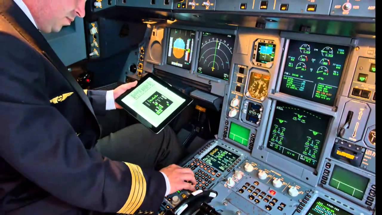 Farnborough 2017 Airbus Unveils Ipad Electronic Flight Bag