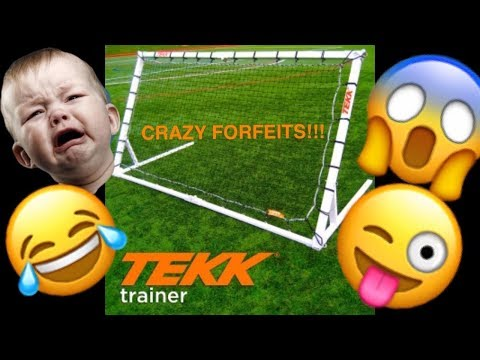 TEKK Trainer Touch Challenge... With Forfeits!!!