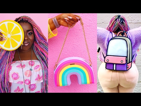 Bag Collection 2017 | Fun Novelty Handbag Haul