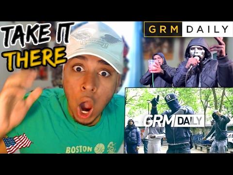 67 Take It There (Monkey, LD, Dimzy & Asap) GRM Daily (UK Rap Reaction UK Grime / Trap / Drill)