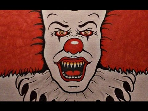 How To Draw Pennywise Stephen King S It Youtube