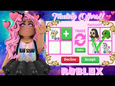 WHAT People TRADE For GOLDEN DRAGON Roblox Adopt Me