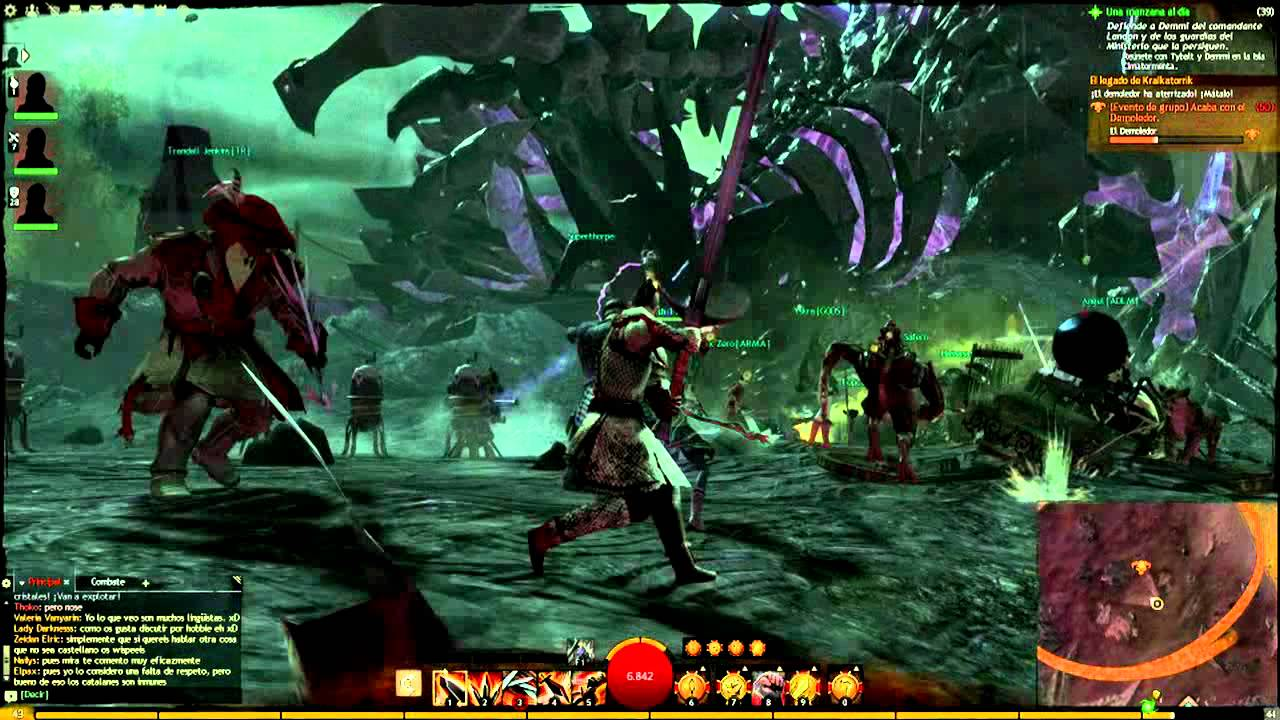 Gw2 Kralkatorrik Dragon Boss Hd Youtube