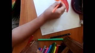 Как нарисовать рейнбоу деш(радугу)(В этом видео ролике я покажу как рисовать пони рейнбоу деш., 2015-08-24T12:27:03.000Z)