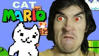 MALDITO GATO ESTRESANTE | Cat Mario - JuegaGerman