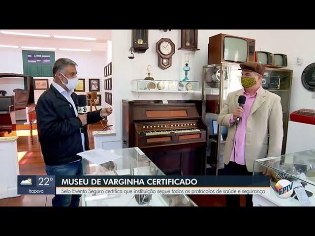 Selo Evento Seguro - Museu Municipal de Varginha - EPTV Sul de Minas