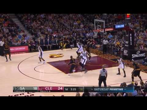 Dewayne Dedmon defense on Kyrie Irving
