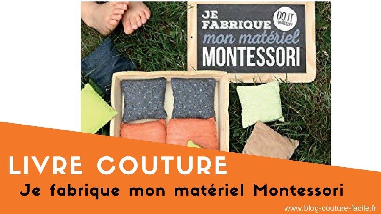 Livre Couture Diy Je Fabrique Mon Materiel Montessori