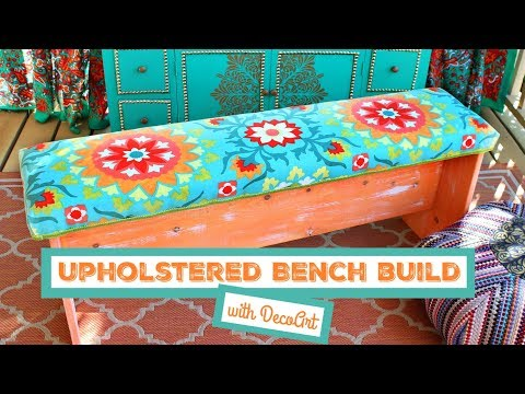 HOW TO: Upholstered Bench