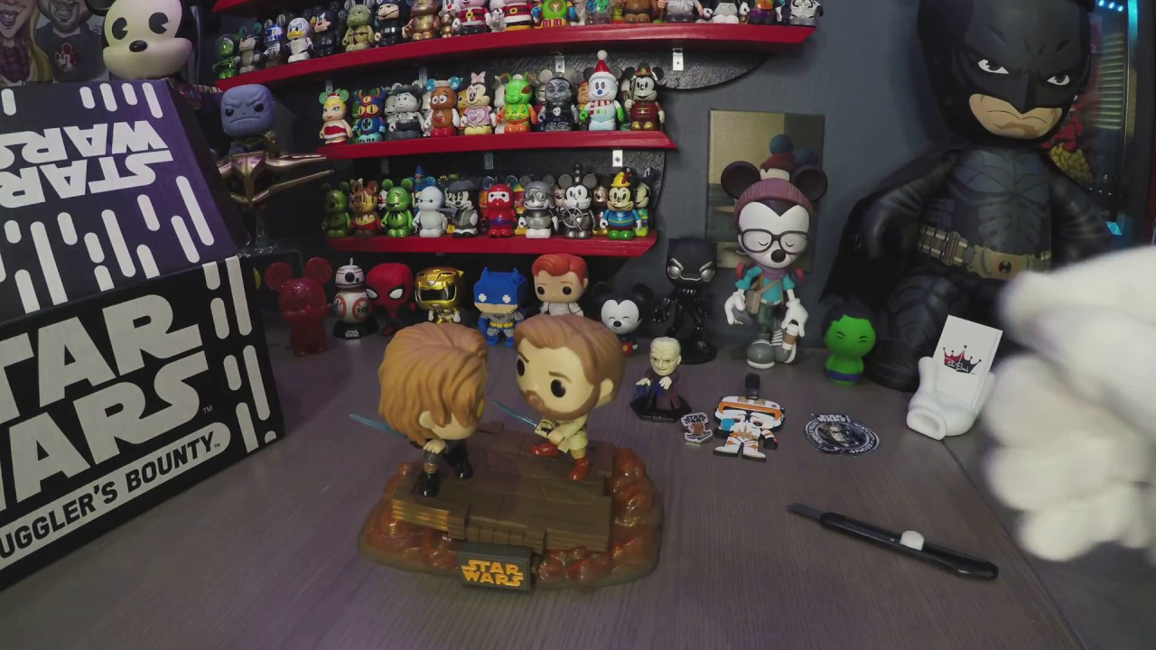 Funko Smuggler S Bounty Star Wars Revenge Of The Sith Unboxing Youtube