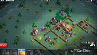 MAYBE THE RAREST BUILDER BASE GLITCH/BUG! (CLASH OF CLANS 2017)