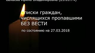 Список погибших и пропавших без вести зимняя вишня Кемерово