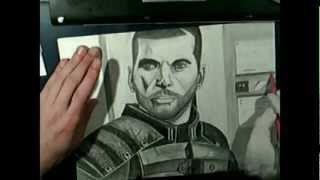 Mass Effect 3 speed drawing / Mark VI vp
