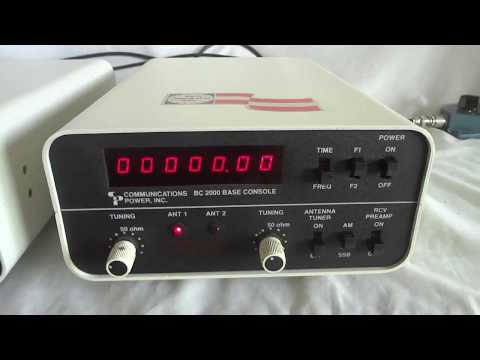 Vintage BC-2000 Station Control For The CP-2000 CB Transceiver, Made By Communications Power Inc