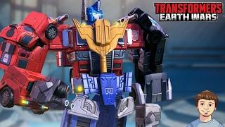 OPTIMUS MAXIMUS Gameplay!!! | Transformers: Earth Wars