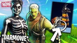 🎁 * NEW * FREE SKINS + NEW DARK LLAMA in Fortnite Save the world!