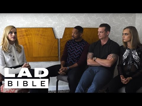 Will Smith, Margot Robbie, and Cara Delevingne (Suicide Squad) Tell Truths and Lies