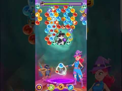 Bubble Witch 3 Saga Level 260 ~ End of Game 2.11.17 ~ no boosters