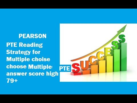 PTE Reading test strategy Multiple Choice, choose Multiple Answers   Super Method To Score 79+