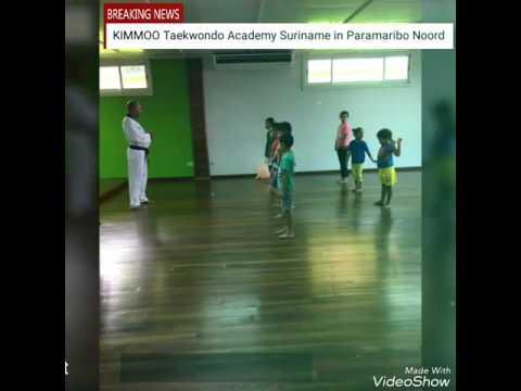 Taekwondo Les in Suriname
