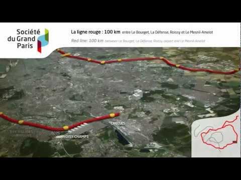 Le Grand Paris Express au coeur du développement de la région Capitale