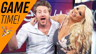Trisha Paytas & Jason Nash Play The 'Newly Dating' Game: Watch To See Their Hilarious Reactions!