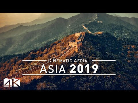 【4K】Drone Footage | The Beauty of ASIA in 1 Cinematic Hour 2019 | Aerial Film