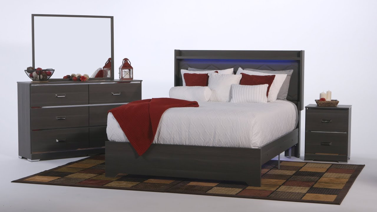 This Ashley Bedroom Furniture Is Something To Dream About By Rent A Center Youtube