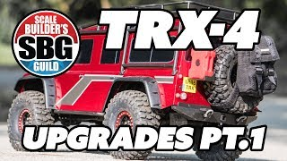 TRX 4 Shapeways Upgrades Part 1