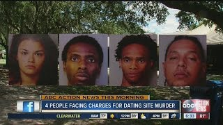 Four people facing charges for dating site murder