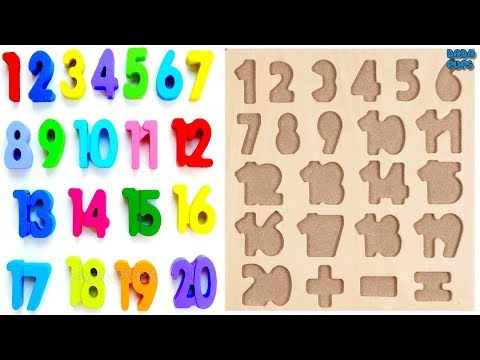 Learn 1To20 Numbers For Kids Counting Numbers Numbers 1 to20 Learn Colors Play Doh Compilation
