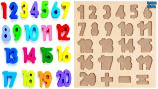 Learn 1to20 Numbers For Kids|counting Numbers|numbers 1 To20|learn Colors Play D