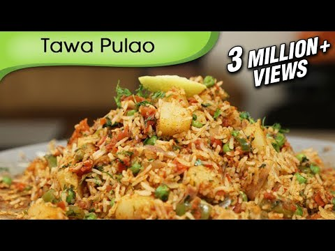 Tawa Pulao - Indian Rice Variety - Spicy Main Course Rice Recipe By Ruchi Bharani