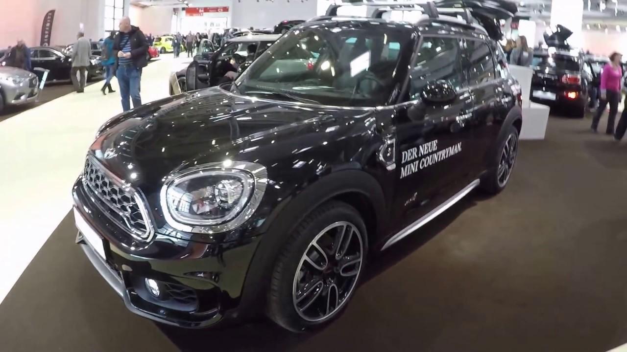 Mini Countryman All4 Cooper S New Model 2017 Midnight Black Walkaround And Interior